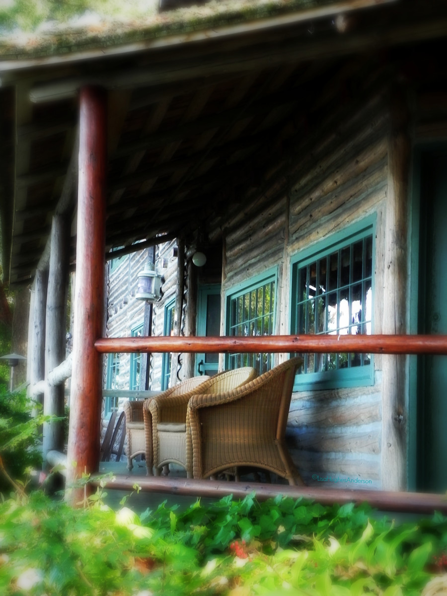 Capn Whidbey's porch