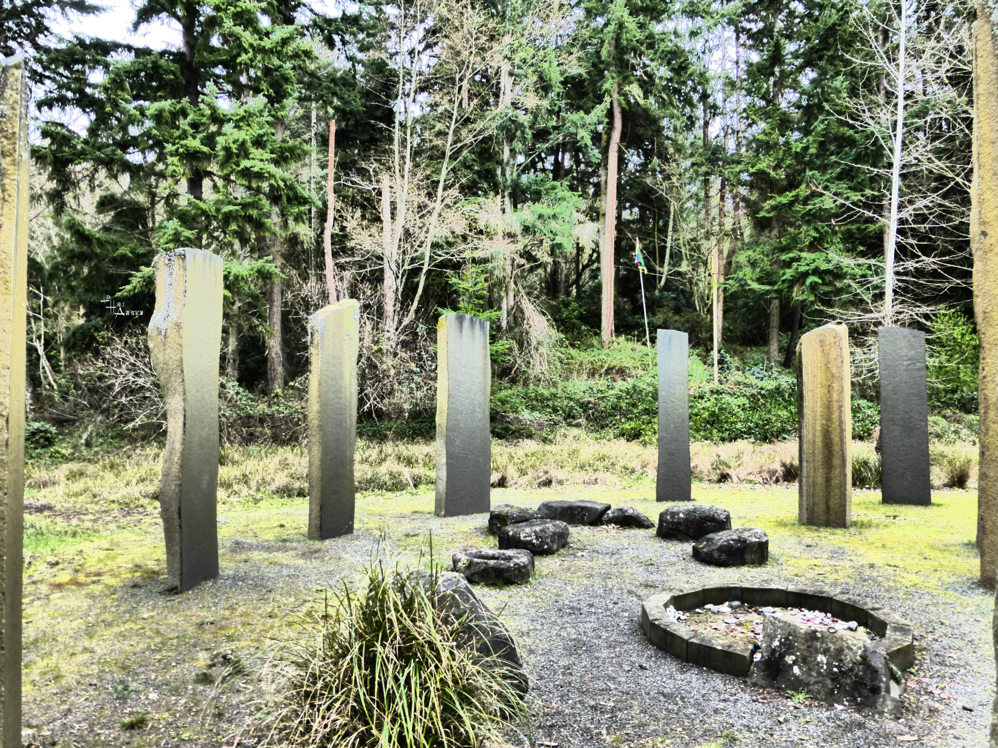 Zen Circle of Mellow Monoliths