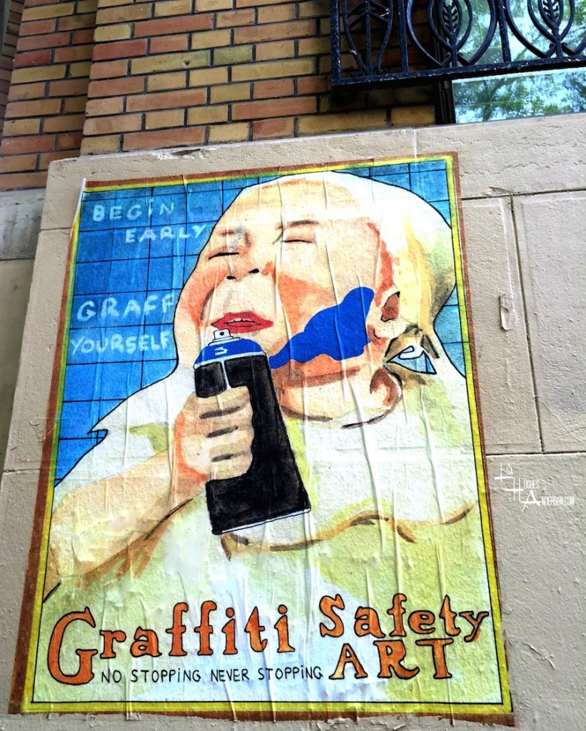 Graffiti Safety Art Paris copy